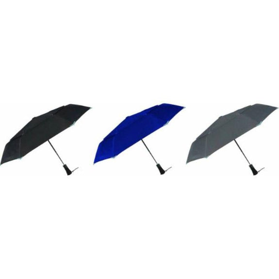 3M Scotchlite Material Automatic Open & Close Reflective Umbrella-Daily Steals
