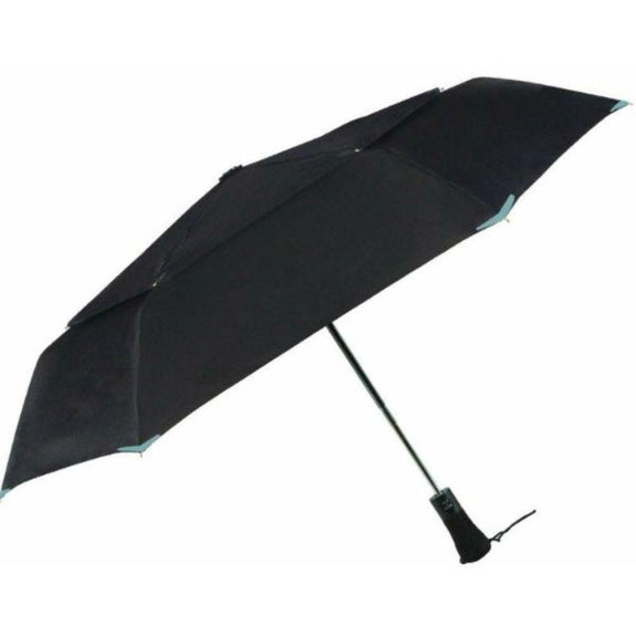 3M Scotchlite Material Automatic Open & Close Reflective Umbrella-Black-Daily Steals