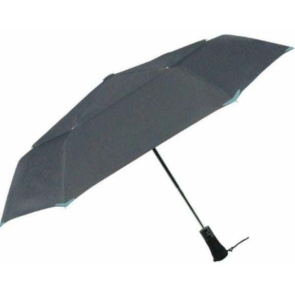 3M Scotchlite Material Automatic Open & Close Reflective Umbrella-Charcoal-Daily Steals