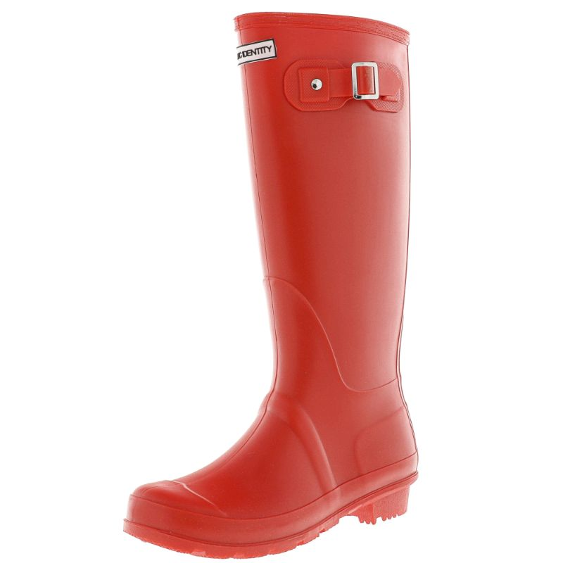 Exotic Identity Original Tall or Short Rain Boots-Red - Tall-6M-Daily Steals
