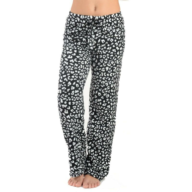 Women's Assorted Soft & Plush Pajama Pants - 3 Pack-Daily Steals