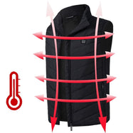 Lightweight Electric Heated Insulated Puffer Vest with Free PowerBank-Small-Daily Steals
