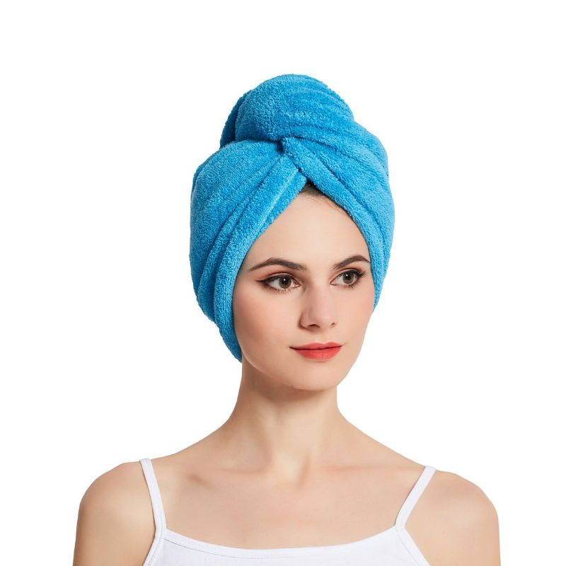 Microfiber Hair Drying Towel - 4 Pack-Daily Steals