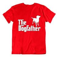 """The Dogfather"" T-Shirt-Red-Small-Daily Steals"