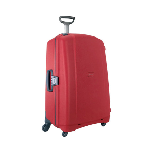 "Samsonite F'Lite GT 31"" Spinner Zipperless Suitcase-Red-Daily Steals"