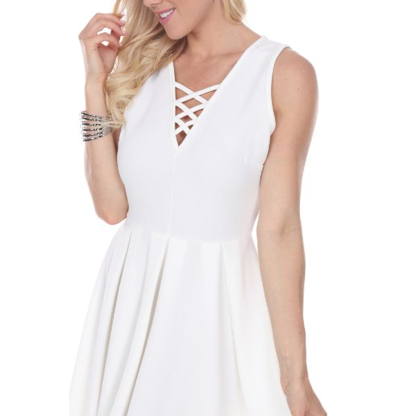 Shay' Fit & Flare Dress-Daily Steals