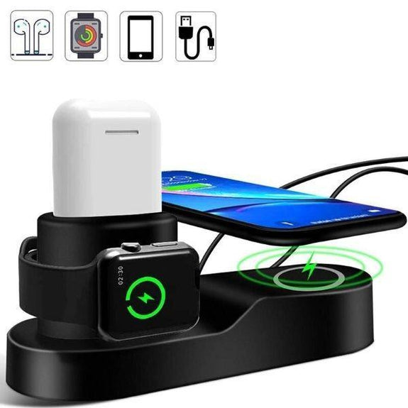 Daily Steals-4 in 1 Wireless Charging Station-Cell and Tablet Accessories-