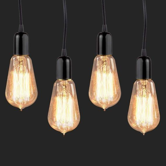 Daily Steals-[4-Pack] Vintage Edison Bulbs-Home and Office Essentials-