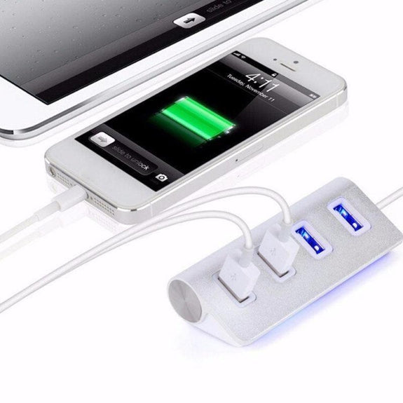 4-Port USB 3.0 Portable Data Hub-Daily Steals