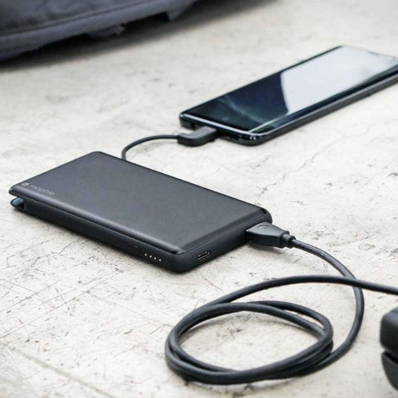 mophie Powerstation Plus XL 12,000mAh Powerbank With Built-In USB-C-Daily Steals