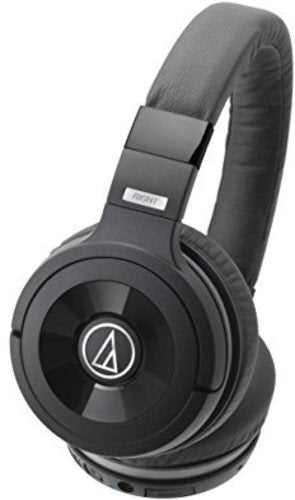 Audio-Technica Solid Bass Wireless Over-Ear Headphones with Built-in Microphone & Control