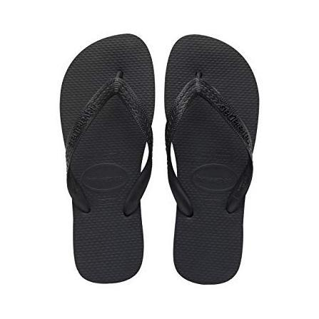 update alt-text with template Daily Steals-Havaianas Top Black Rubber Sandal - 6 Womens/ 5 Mens-Accessories-