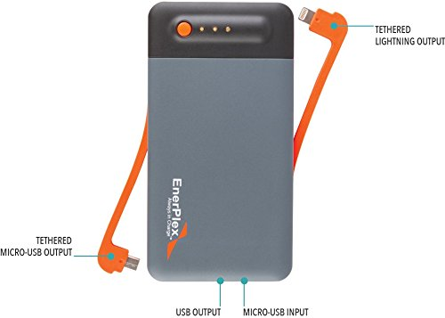 EnerPlex Jumpr Stack 9 Power Bank for Smartphones, MP3 Players and Other Mobile Devices