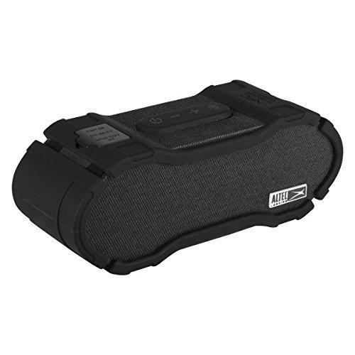 Altec Lansing Omni Jacket NFC Waterproof Bluetooth Speaker-Black-Daily Steals