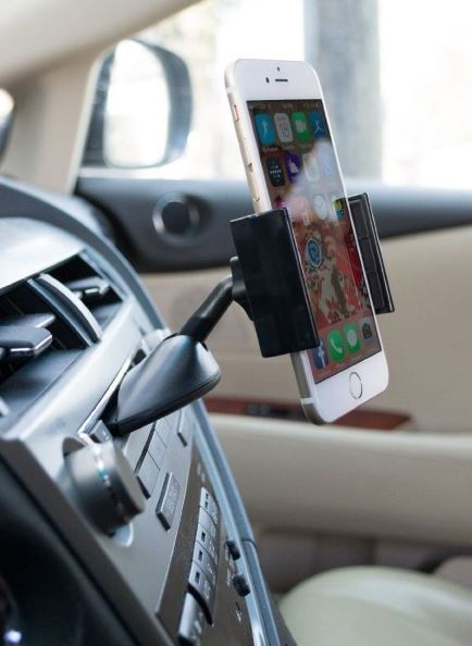 Daily Steals-Liger Universal Click CD Car Mount-Car Accessories-