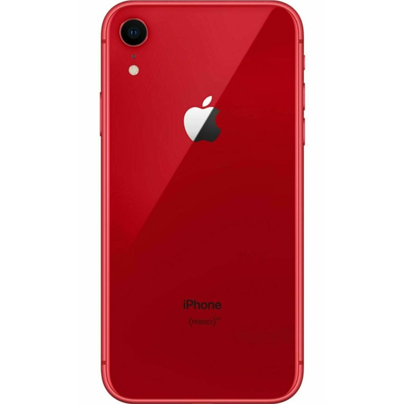 "Apple iPhone XR Factory Unlocked 64GB with 6.1"" Liquid Retina Display-Red-Daily Steals"