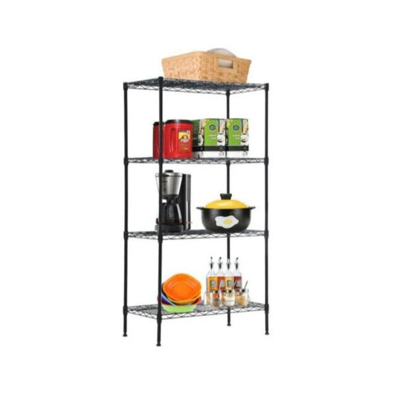 Commercial Metal Shelving Unit - 4-Tier or 5-Tier-4-Tier-Daily Steals