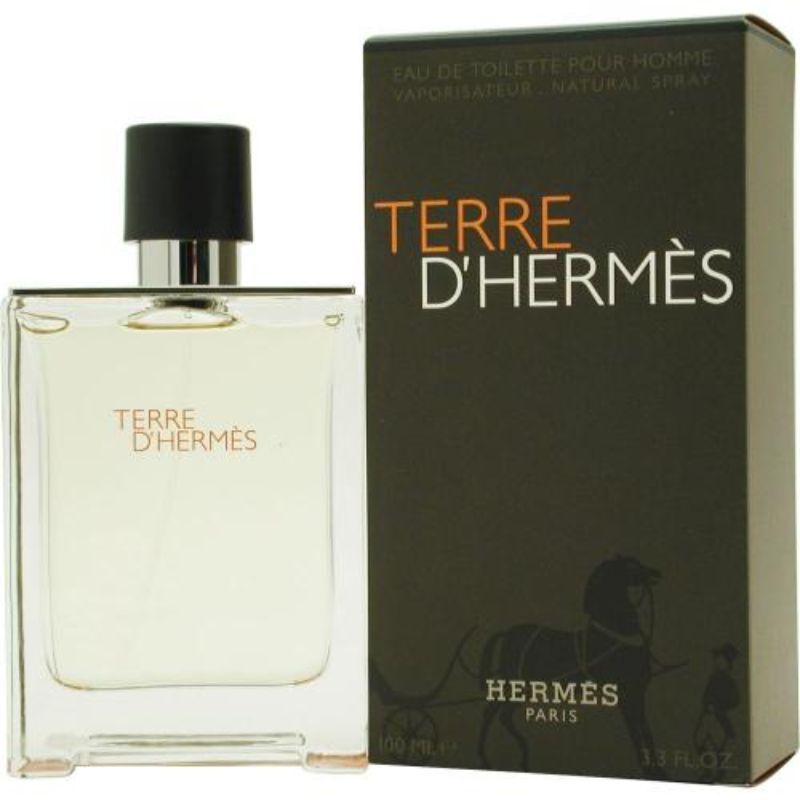 Hermes - Terre D'hermes Eau De Toilette For Men - 3.3 oz-Daily Steals