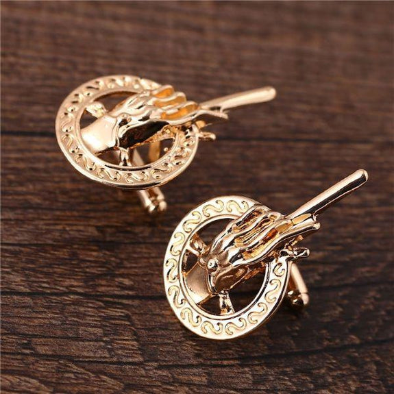 Hand of The King Cuff Links-Daily Steals