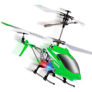 Syma S107H Remote Control Helicopter- w/ Altitude Hold Indoor RC Helicopter-Green-Daily Steals