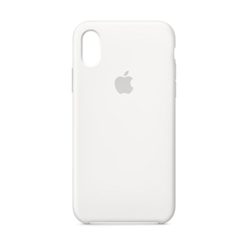 Apple Silicone Case for iPhone X/Xs-White-Daily Steals