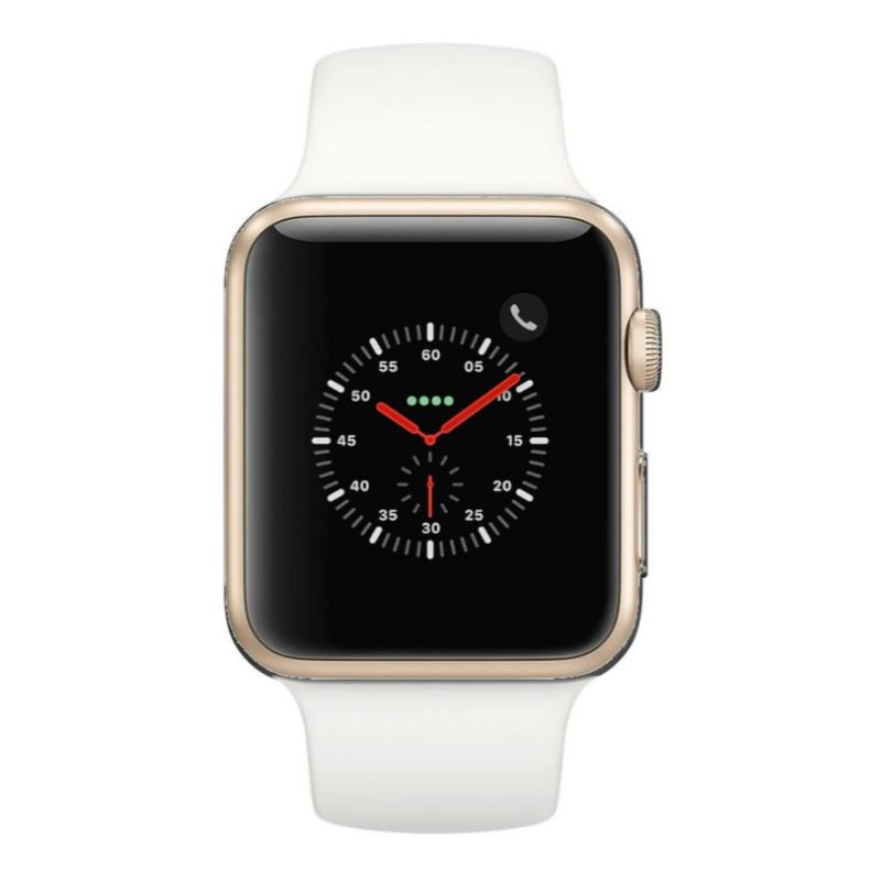 Apple Watch Series 2 38mm, WiFi-Gold with White Sport Band-Daily Steals