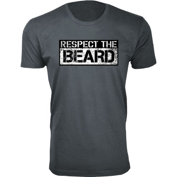 Daily Steals-Men's 'Awesome Beard' T-shirts-Men's Apparel-Respect the Beard - Charcoal-S-