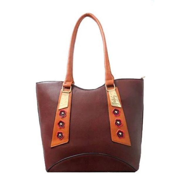 Stylish Tote Vintage Leather Handbag-Coffee-Daily Steals