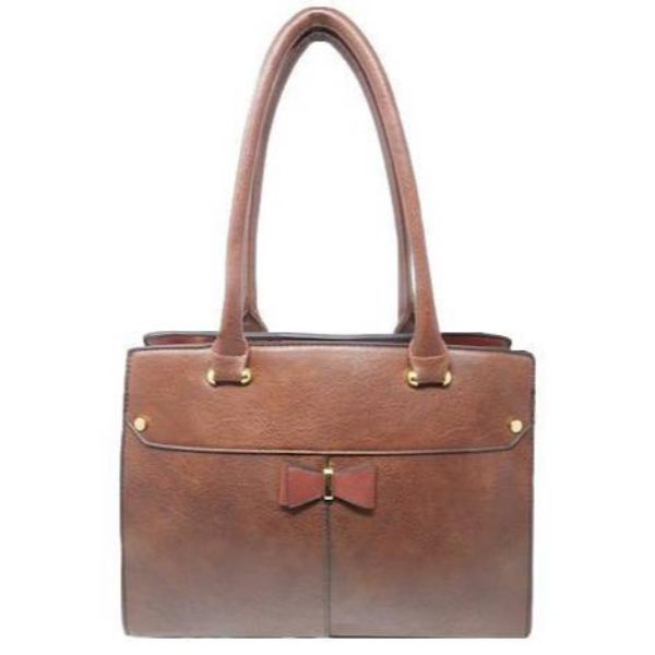 Women Leather Shoulder Vintage Tote Handbag-Coffee-Daily Steals
