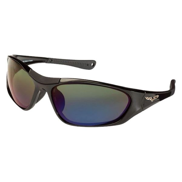 Corvette C6 Polarized Sunglasses El Series 5 Sports Styles by Solar Bat-CV-BD1 Gray Blue Mirrored Polarized-Daily Steals
