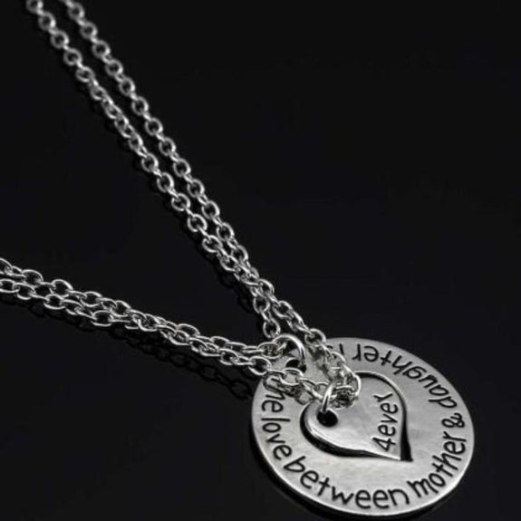 """The Love Between Mother & Daughter is 4ever"" Necklace-Daily Steals"