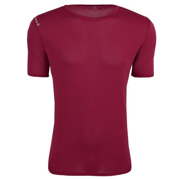 Reebok T-shirt Performance Volt Pour Homme-Maroon-4XL-Daily Steals