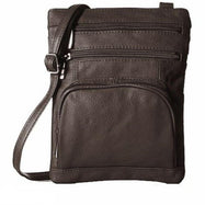 Plus Size Crossbody Bag with RFID Blocking Option-RFID Coffee-Daily Steals