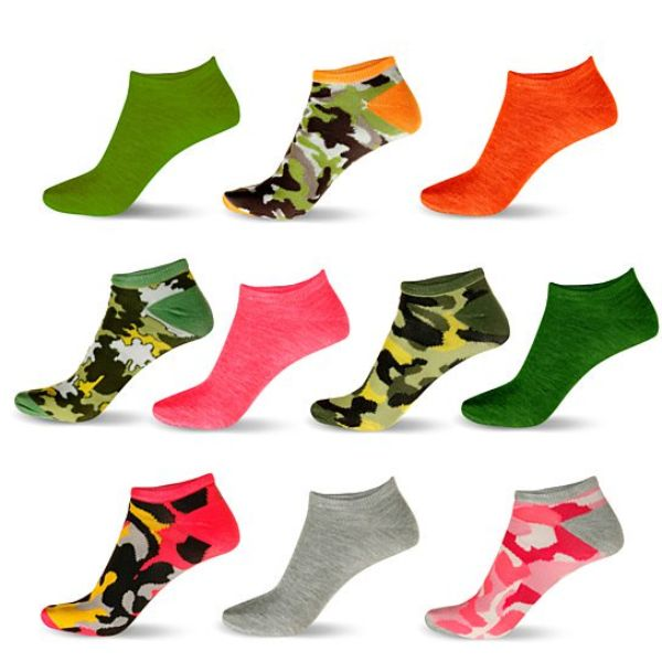 Women's Low Rise Ankle Sock Mystery Deal - 20 Pair-Daily Steals