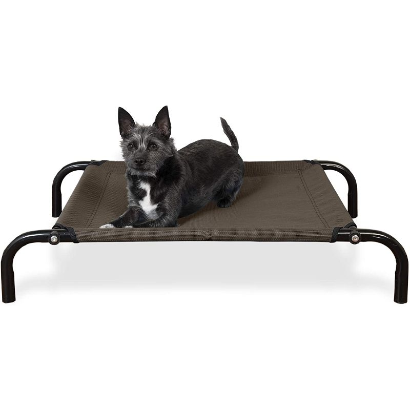Furhaven Reinforced Pet Cot Bed-Espresso-Extra Small-Daily Steals