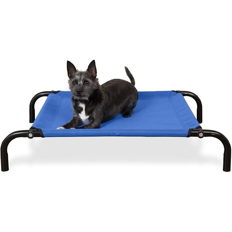 Furhaven Reinforced Pet Cot Bed-Deep Blue-Extra Small-Daily Steals