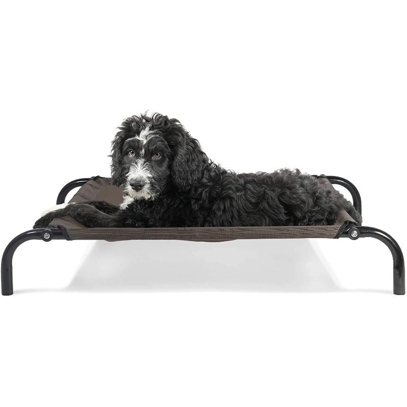 Furhaven Reinforced Pet Cot Bed-Espresso-Small-Daily Steals