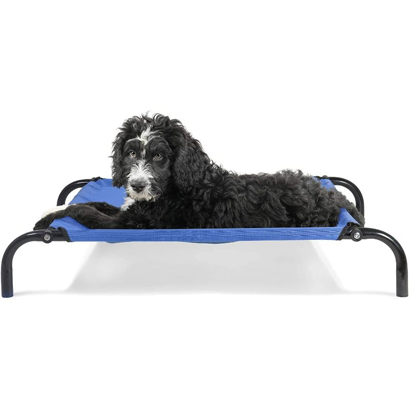Furhaven Reinforced Pet Cot Bed-Deep Blue-Small-Daily Steals