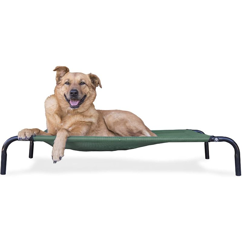Furhaven Reinforced Pet Cot Bed-Forest-Medium-Daily Steals