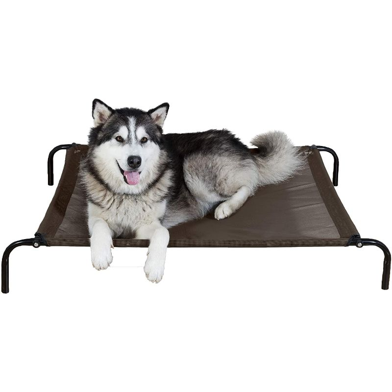 Furhaven Reinforced Pet Cot Bed-Espresso-Large-Daily Steals