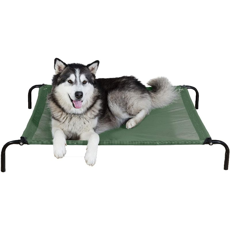 Furhaven Reinforced Pet Cot Bed-Forest-Large-Daily Steals