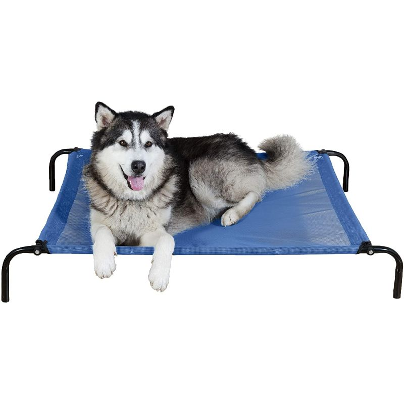 Furhaven Reinforced Pet Cot Bed-Deep Blue-Large-Daily Steals