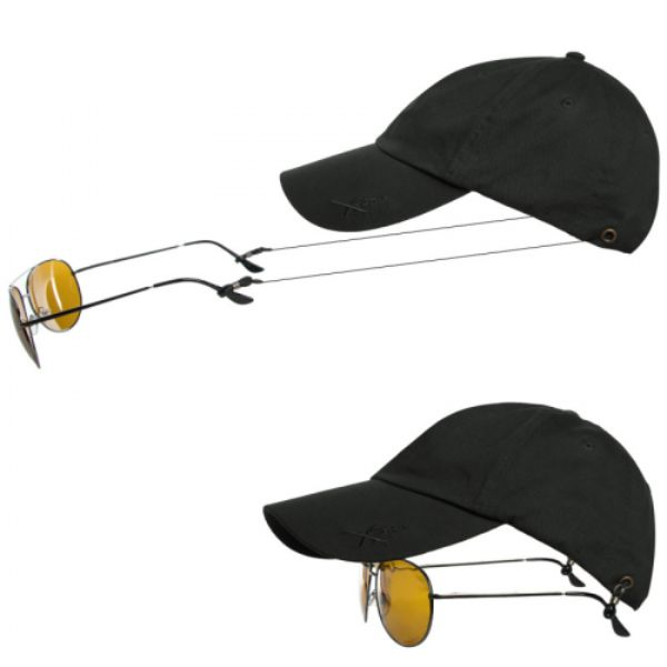 Xcap by Kombi Baseball Cap with Built-in Retractable Sunglasses Holder - 2 Pack-Daily Steals
