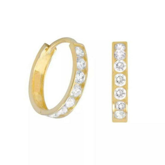Ultimate Gold Tone Hoop And Stud Set-Daily Steals