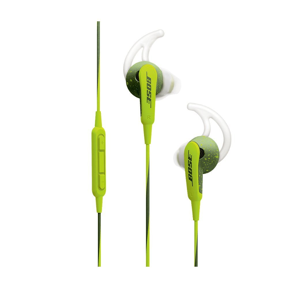 Daily Steals-Bose SoundSport In-Ear Headphones with Mic/Controls for iOS Devices - Energy Green-Headphones-