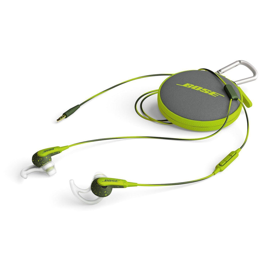 update alt-text with template Daily Steals-Bose SoundSport In-Ear Headphones with Mic/Controls for iOS Devices - Energy Green-Headphones-
