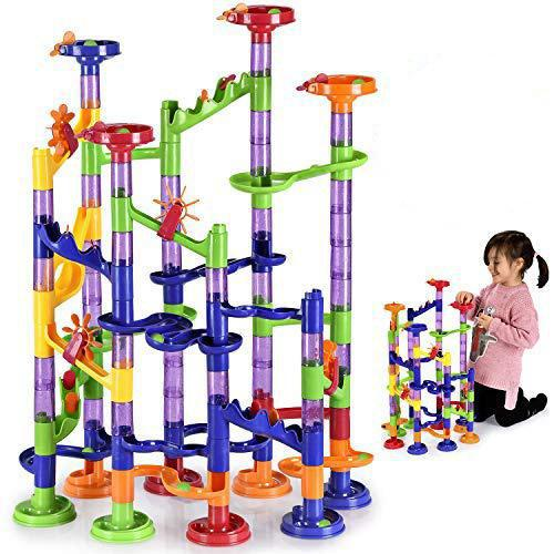 Daily Steals-Large Marble Run Toy Set for Kids (117-Piece Set)-Hobby and Toys-