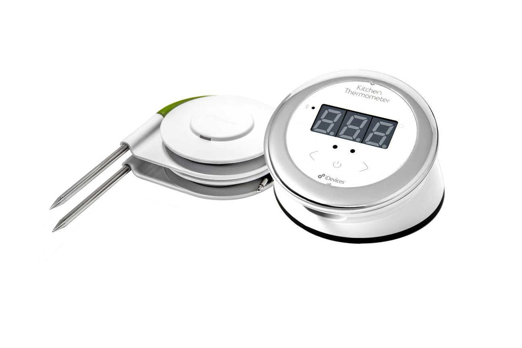 Weber iDevices Dual Probe Smart ​Food Thermometer with 150 Hour Battery Life-Daily Steals