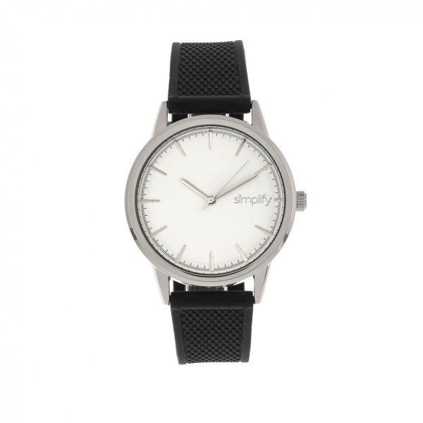 Simplify The 5200 Strap Watch-Silver-Daily Steals
