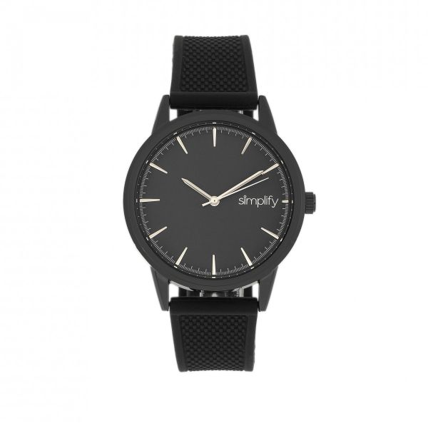 Simplify The 5200 Strap Watch-Black-Daily Steals
